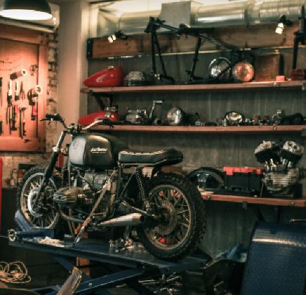 moto customs rideshaper