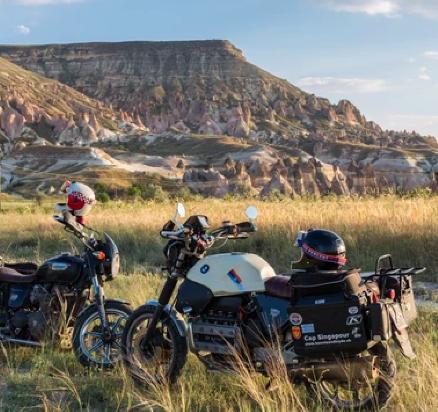 prepa voyage moto rideshaper